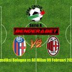 Prediksi Bologna vs AC Milan 9 Februari 2017