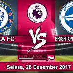 Prediksi Pertandingan Chelsea FC vs Brighton Hove Albion 26 Desember 2017
