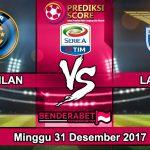 Prediksi Pertandingan Inter Milan vs Lazio 31 Desember 2017