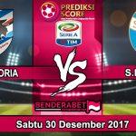 Prediksi Pertandingan Sampdoria vs S.P.A.L 30 Desember 2017