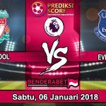 Prediksi Pertandingan Liverpool Vs Everton 6 Januari 2018
