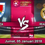 Prediksi Pertandingan Numancia vs Real Madrid 5 Januari 2018