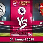 Prediksi Pertandingan Swansea City vs Arsenal 31 Januari 2018