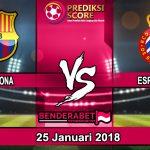 Prediksi Pertandingan Barcelona vs Espanyol 2018