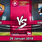 Prediksi Pertandingan AS Roma vs Sampdoria 29 Januari 2018