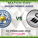 Prediksi Leicester City vs Swansea City 3 Februari 2018