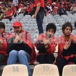 Viral, Sekelompok Wanita asal Iran Menyamar Jadi Pria di Stadion Bola
