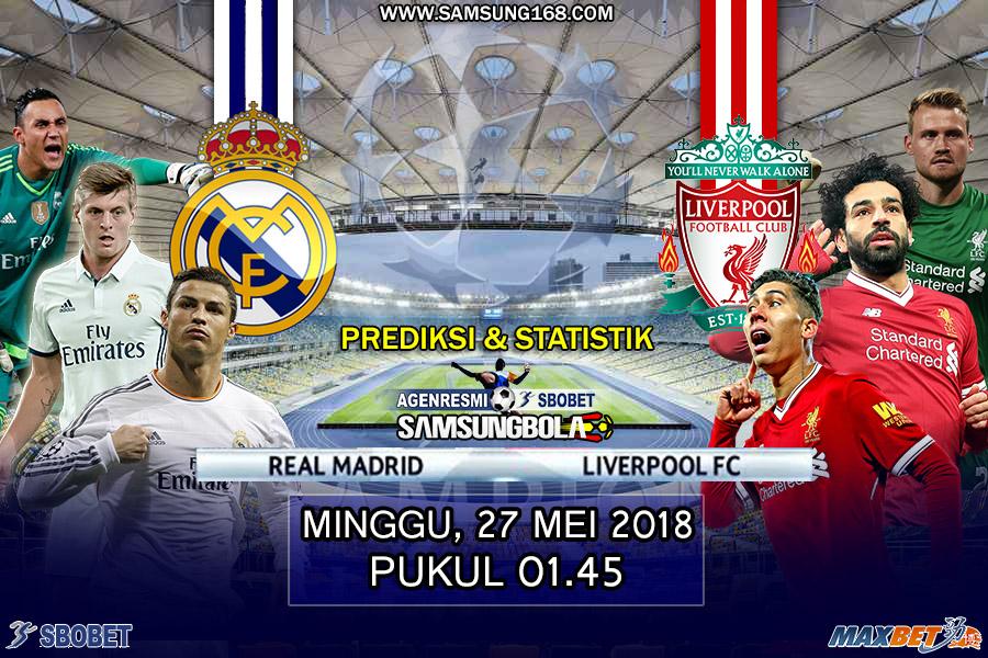 Statistik & Rekor Pertemuan Real Madrid vs Liverpool ...