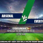 Prediksi Arsenal vs Everton 23 September 2018