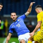 Highlights Pertandingan Italia vs Ukraina