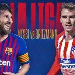 Barcelona dan Atletico Madrid Bertarung Rebut Tahta