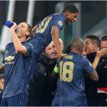 Comeback United, Tunda Juventus ke 16 Besar