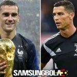 Juaranya Bocor, Ronaldo dan Griezmann Tak Hadir di Ballon d'Or?