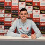 Andy Robertson  Resmi Perpanjang Kontrak Dengan Liverpool