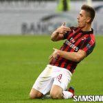 Krzysztof Piatek Tumbangkan Rekor Legenda AC Milan