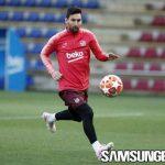 Akankah Messi Akhiri Puasa Gol Perempat Final versus United?