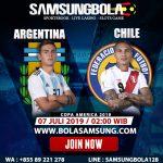 Prediksi Argentina vs Chile 7 Juli 2019