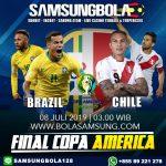 Prediksi Brazil vs Peru 8 Juli 2019