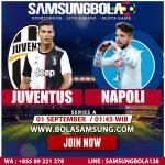 Prediksi Juventus vs Napoli 1 September 2019