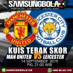 Prediksi Manchester United vs Leicester City 14 September 2019