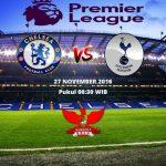Prediksi Chelsea vs Tottenham 27 November 2016