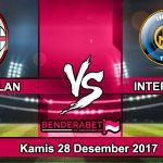Prediksi Pertandingan Coppa Italia AC Milan vs Inter Milan Kamis 28 Desember 2017
