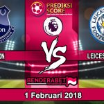 Prediksi Pertandingan Everton vs Leicester City 1 Februari 2018