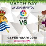 Prediksi Real Sociedad vs Deportivo La Coruna 3 Februari 2018