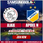 Prediksi Ajax vs Apoel 29 Agustus 2019