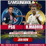 Prediksi Paris Saint Germain vs Real Madrid 19 September 2019