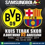 Prediksi Dortmund vs Barcelona 18 September 2019