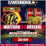 Prediksi Watford vs Arsenal 15 September 2019